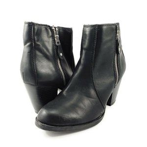 442M Finch Black High Heel Ankle Boots Womens Simply Vera 112913